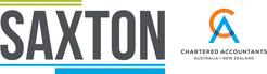Chris Saxton logo